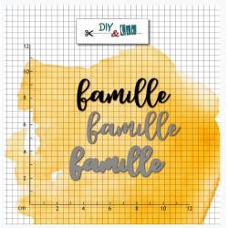 Dies - DIY and Cie - En Route - Famille
