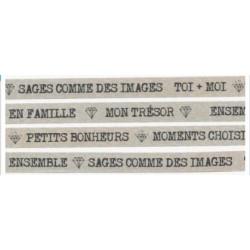 Masking Tape Les Ateliers de Karine - Petits Bonheurs
