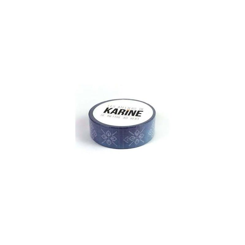 Masking Tape Les Ateliers de Karine - Bleu Marine