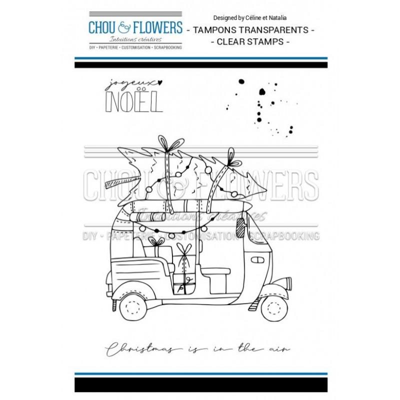 Tampons Clear - Chou & Flowers - Tuk Tuk