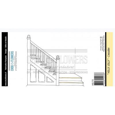 Tampon EZ Chou & Flowers - L'escalier