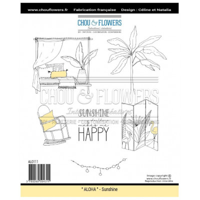 Tampon EZ Chou & Flowers - Sunshine