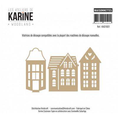 Dies Les Ateliers de Karine - Woodland - Maisonnettes