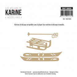 Dies Les Ateliers de Karine - Woodland - Tout shuss