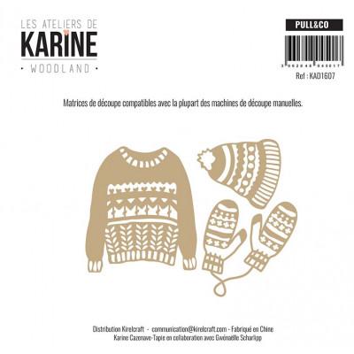 Dies Les Ateliers de Karine - Woodland - Pull & Co