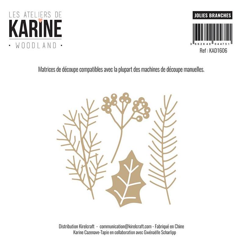 Dies Les Ateliers de Karine - Woodland - Jolies branches