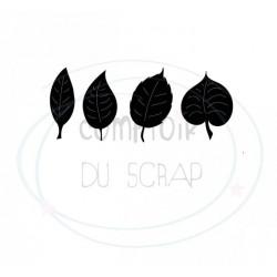 Comptoir Scrap - Die Quatres petites feuilles