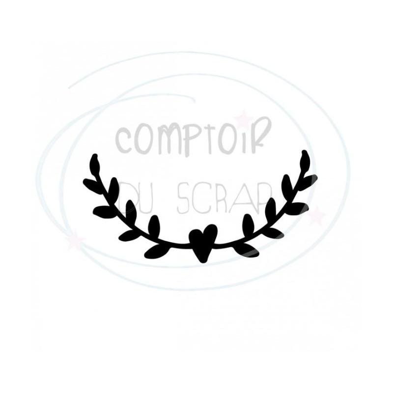 Comptoir Scrap - Die Demi couronne cœur