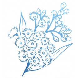 Tampons - Couture Creations - Acacia en fleur