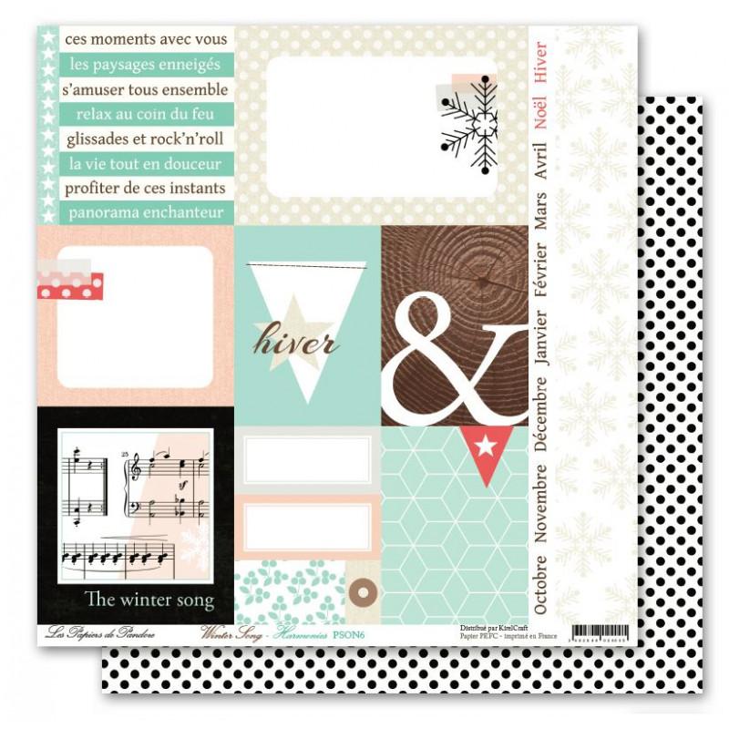 Pack 30x30 - Les papiers de Pandore - Winter Song