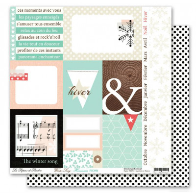 Pack 30x30 - Les papiers de Pandore - Winter Song