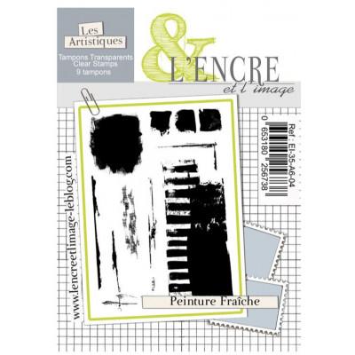 Tampons transparents L'Encre et l'image - Peinture Fraiche