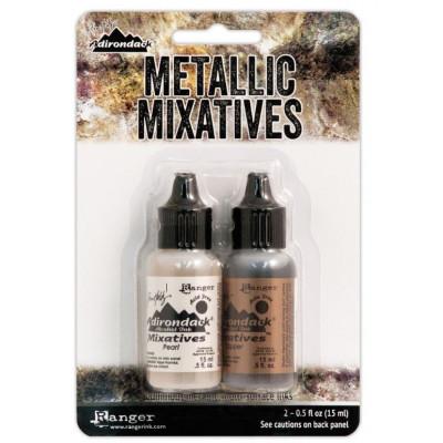 Tim Holtz - Encres Alcohol Ink Metallic Mix