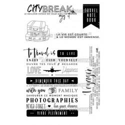 Tampons clear City Break - Mes Ptits Ciseaux
