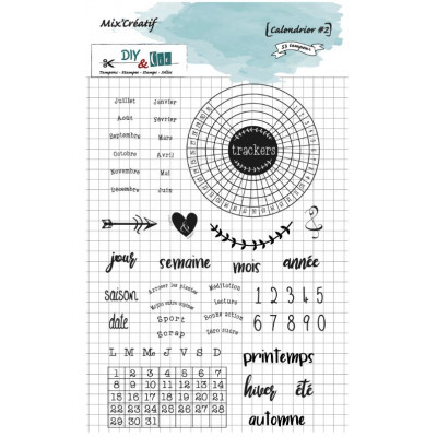 Tampon clear - DIY and Cie - Calendrier #2