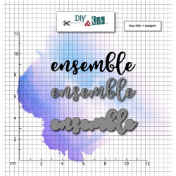 Dies et tampons - Ensemble - DIY and Cie