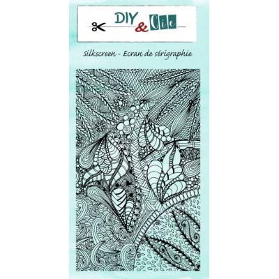 Pochoir Silkscreen - DIY & Cie - Feuillage