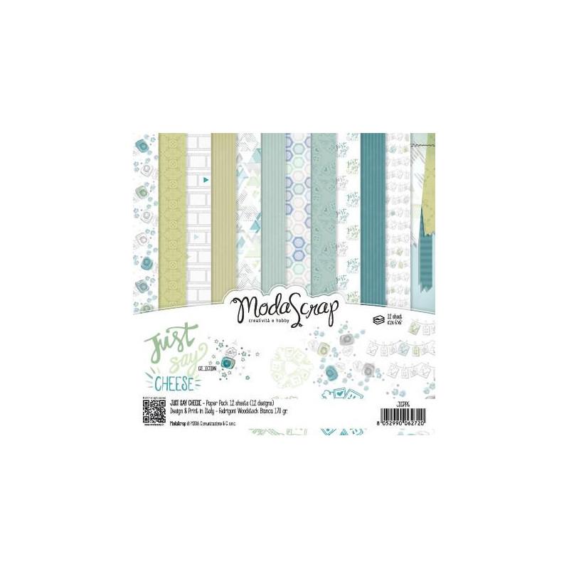 ModaScrap - Paper Pack 15.2x15.2 - Sourire