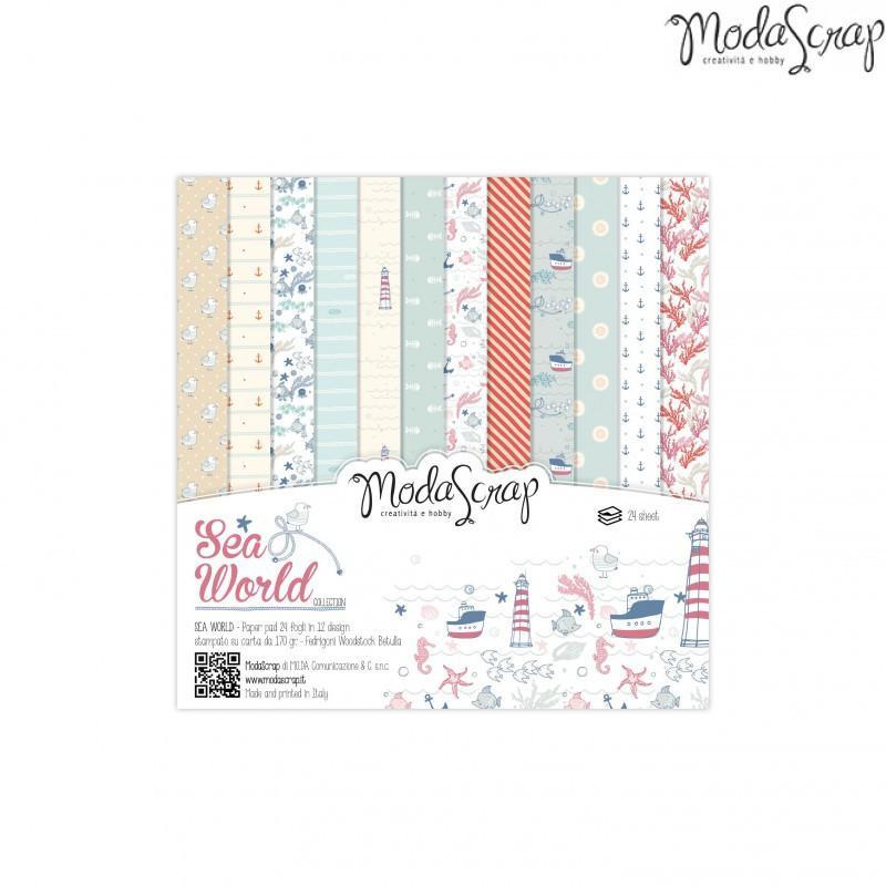 ModaScrap - Paper Pack 15.2x15.2 - La mer