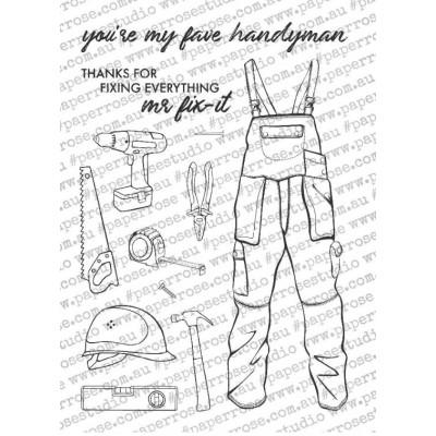 Tampons Paper Roses - Handyman