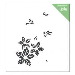 ModaScrap - Pochoir - Poinsettia