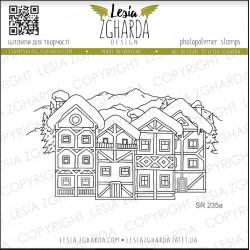Tampons transparent Lesia Zgharda - Village