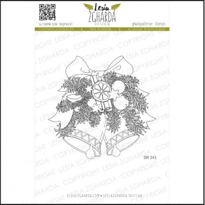 Tampons transparent Lesia Zgharda - Cloches