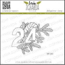 Tampons transparent Lesia Zgharda - Veille de Noël