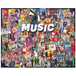 Puzzle White Mountain - 1000 pièces - Music
