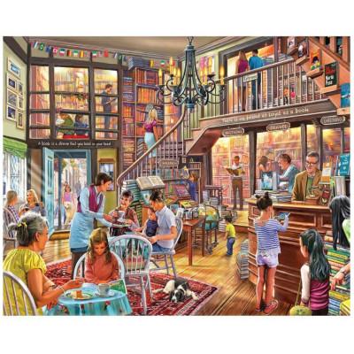 Puzzle White Mountain - 1000 pièces - Librairie
