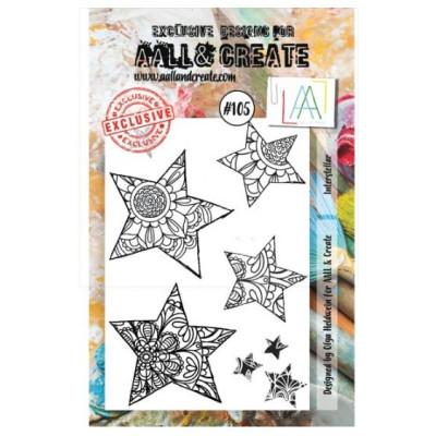 AALL & Create Stamp -105 - Etoiles