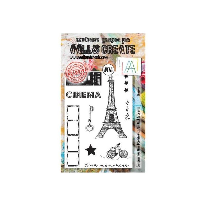 AALL & Create Stamp Set - 176 - Cinéma Paris