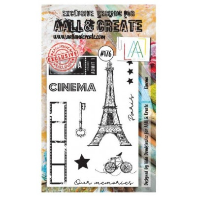 AALL & Create Stamp Set - 176 - Cinéma Paris