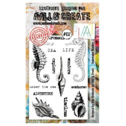 AALL & Create Stamp Set - 137 - Hippocampe