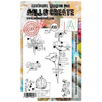 AALL & Create Stamp Set - 207 - Coquelicots