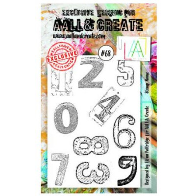 AALL & Create Stamp Set - 68 - Chiffres