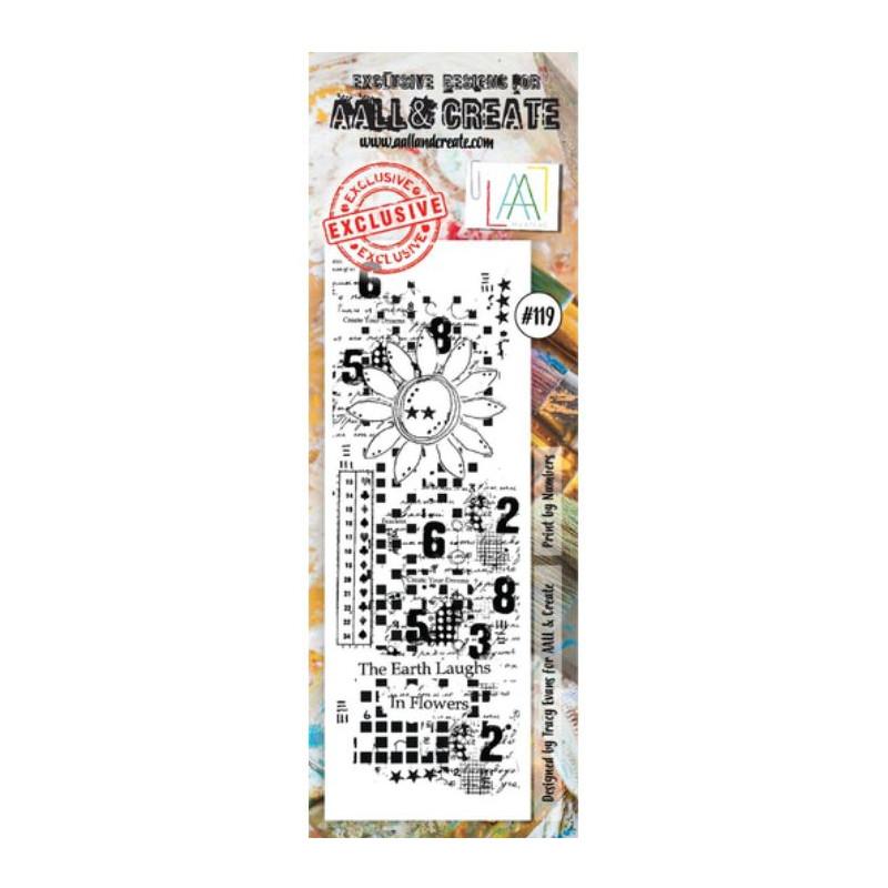 AALL & Create Stamp - 119 - Marguerite