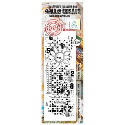 AALL & Create Stamp - 119 - Marguerite