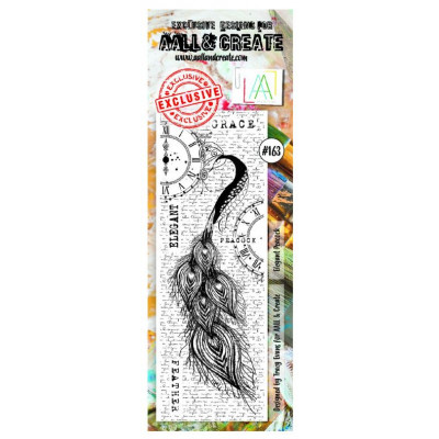 AALL & Create Stamp - 163 - Paon