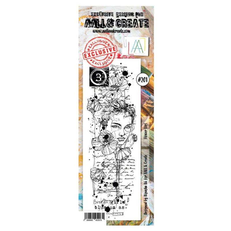 AALL & Create Stamp - 201 - Visage