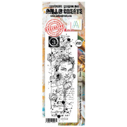 AALL & Create Stamp - 201 - Visage