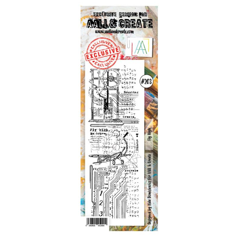 AALL & Create Stamp - 203 - Avoir des ailes
