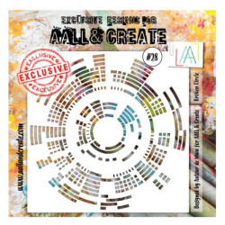 AALL & Create - Pochoir 028 - Ronds