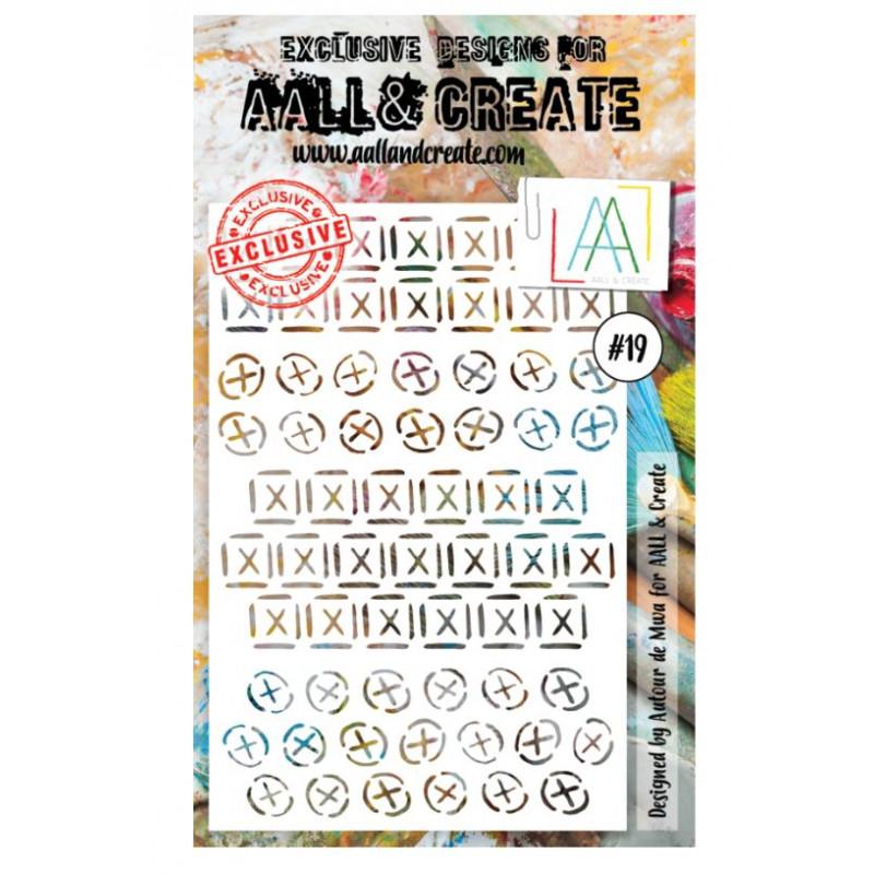 AALL & Create - Pochoir 019 - Croix