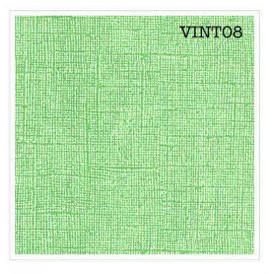 Cardstock texturé canvas - Coloris Vintage Vert printemps