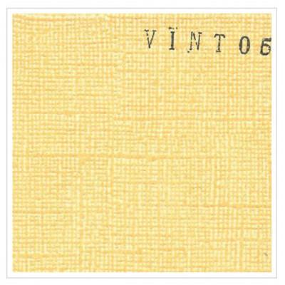 Cardstock texturé canvas - Coloris Vintage jaune orange