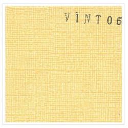 Cardstock texturé canvas - Coloris jaune orange