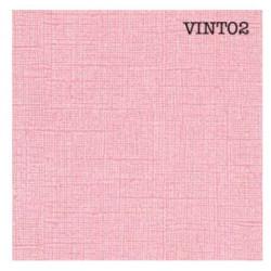 Cardstock texturé canvas - Coloris Vintage Rosé