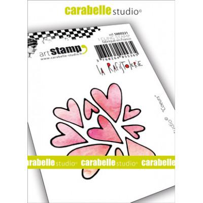 Tampons Mini - Carabelle Studio - Cœurs
