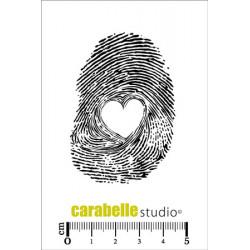 Tampons Mini - Carabelle Studio - Empreinte coeur